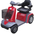 Galaxy Red Used Mobility Scooter